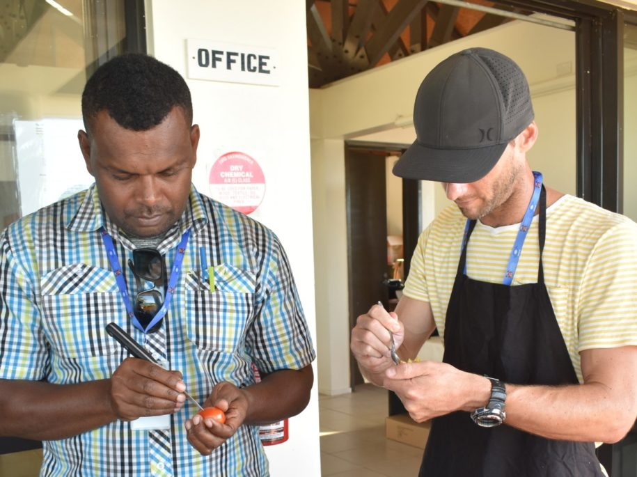 Tourism Suncoast hosted a 5-day culinary training workshop in May 2019 focusing on modern recipes using local ingredients, and the No Worries Team was there :)